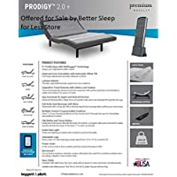Prodigy 2.0+ Plus Leggett Platt Adjustable Bed! Pick Size! Free White Glove Delivery! Includes Extended 10 Year in Home Warranty! 25 Years Total! (Queen (60x80))