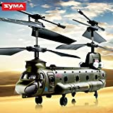 Syma S026G 3 Channel Infrared Mini Micro Chinook Remote Control RC Army Helicopter GYRO RTF