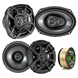 Best Kicker Sound Quality Speakers - 2 Pair Car Speaker Package Of 2x Kicker Review