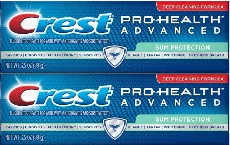 Crest Pro-Health Advanced Gum Protection Toothpaste 3.5 Ounces (Pack of 2) - Pro Health Gum