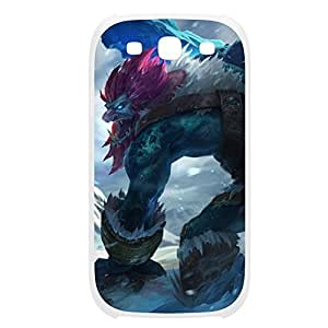 Trundle-001 League of Legends LoL For Case Samsung Galaxy S4 I9500 Cover Plastic White