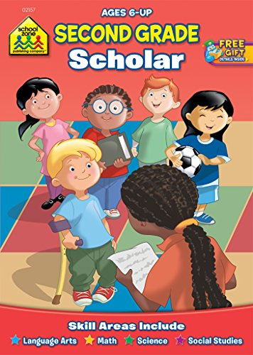Second Grade Scholar Workbook Ages 6 and Up