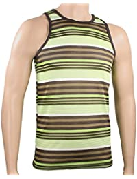 Men's Striped Tank Multicolor