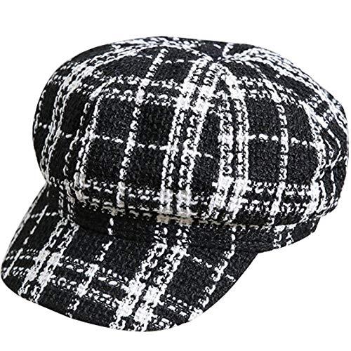 e5fbe6987e5 Jaxon    James Hats Tweed Flat Cap - Brown-Grey Village Hats 167711 ...