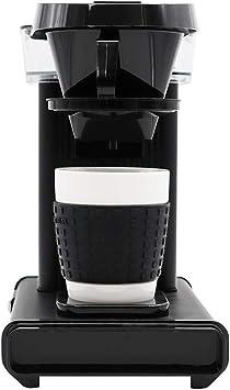 Moccamaster Cup-one - Cafetera de filtro negro mate: Amazon.es: Hogar