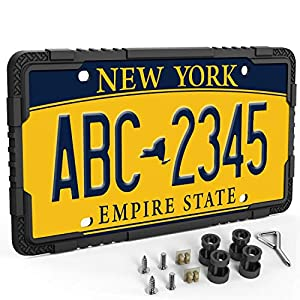 LOFTEK-Silicone-License-Plate-Frame