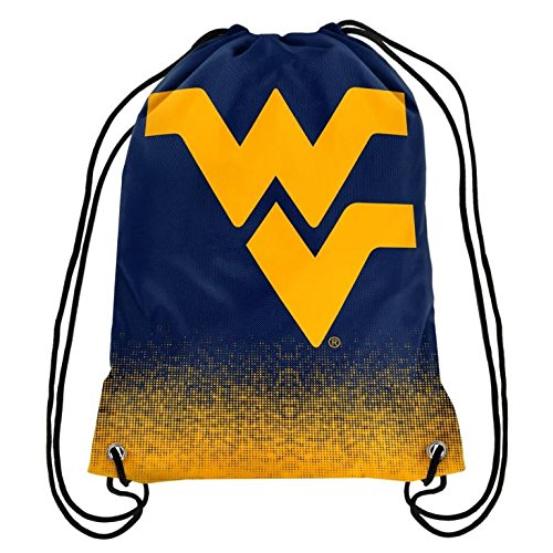 West Virginia Mountaineers Bag (2016 NCAA College Team Logo Drawstring Backpack Bag - Pick Team (West Virginia Mountaineers))
