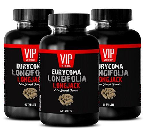 Malaysian Ginseng – EURYCOMA LONGIFOLIA – Stimulates libido 3 Bottles – 180 Capsules