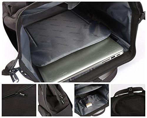 Himawari Travel Backpack Laptop Backpack Large Diaper Bag Doctor Bag Backpack School Backpack for Women&Men (Scrub Blue) by Himawari (Image #7)