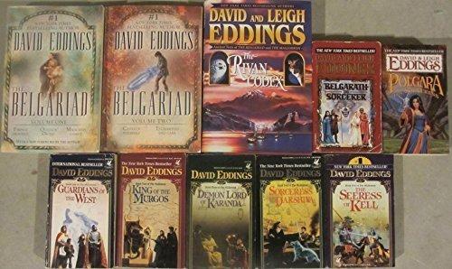 Download David Eddings 13 Novel Set- Complete Belgariad and Mallorean Series pdf