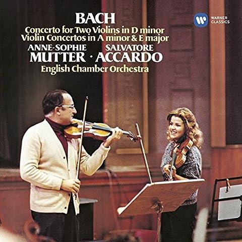 Bach: Violin Concertos in E major, D minor & A minor; Mutter, Accardo