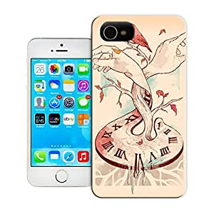 Unique Phone Case Feature artwork time clock hands bird illustration tattoo design art Hard Cover for 5.5 inches iphone 6 plus cases-buythecase