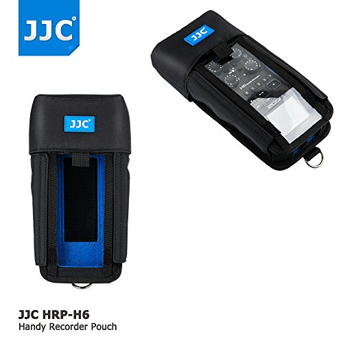JJC Protective Pouch Case Bag for Handy Portable Recorder Zoom H6 Case replaces Zoom PCH-6 by JJC