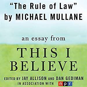 The Rule of Law Audiobook
