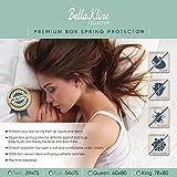 BELLA KLINE Premium Waterproof BOX SPRING Encasment – Hypoallergenic- Bed Bug Proof – Lifetime Warranty – KING Size