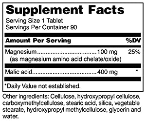 Douglas Laboratories® - Mag-Malate - Magnesium and Malic Acid to Support Energy Production and Muscular Function* - 90 Tablets