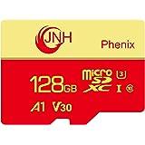 microSDカード microSDXCカード 128GB JNH 超高速100MB/秒 UHS-I U3 V30 4K Ultra HD アプリ最適化A1対応 【国内正規品 5年保証】