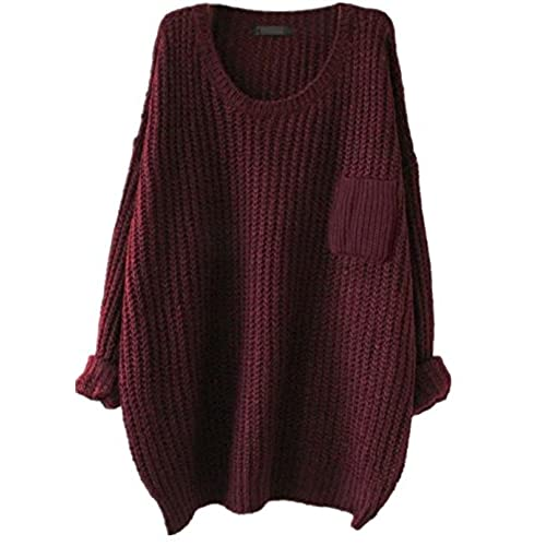 Burgundy Pullover Sweater: Amazon.com