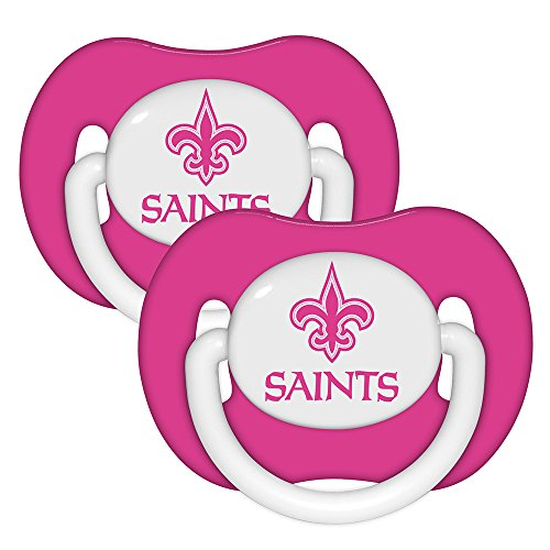 Baby Fanatic Pacifiers, New Orleans Saints, 2 Count