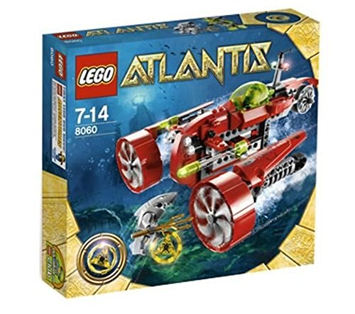 LEGO Atlantis Typhoon Turbo Sub Set 8060