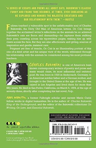 On Cats: Amazon.es: Bukowski, Charles: Libros en idiomas extranjeros