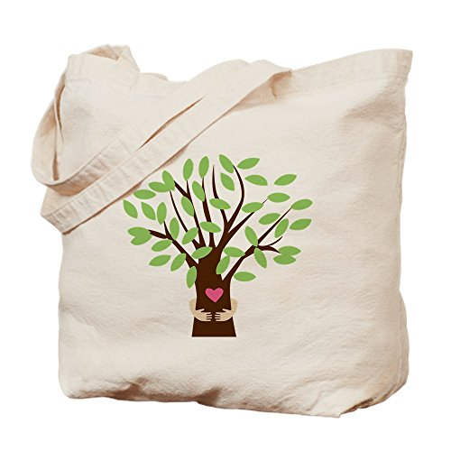 Shopping CafePress Canvas Tote Bag Hugger Cloth Tree Bag Natural gHTagw0q