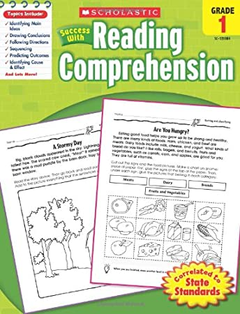 Counting Number worksheets kindergarten sentence writing worksheets : Scholastic Success with Reading Comprehension, Grade 2: Scholastic ...