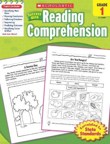 Scholastic Success with Reading Comprehension, Grades 1 ...