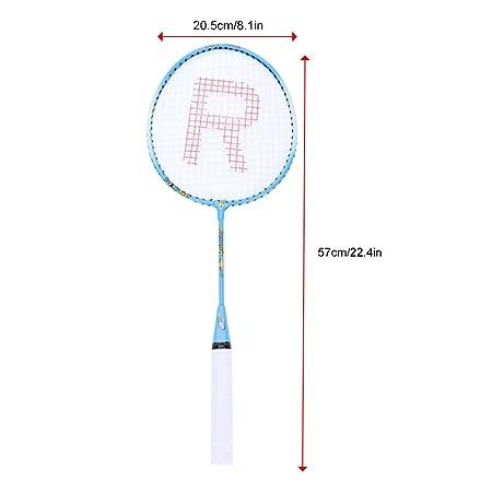 Alomejor Badmintonschlager 2 Spieler Anfanger Leichte
