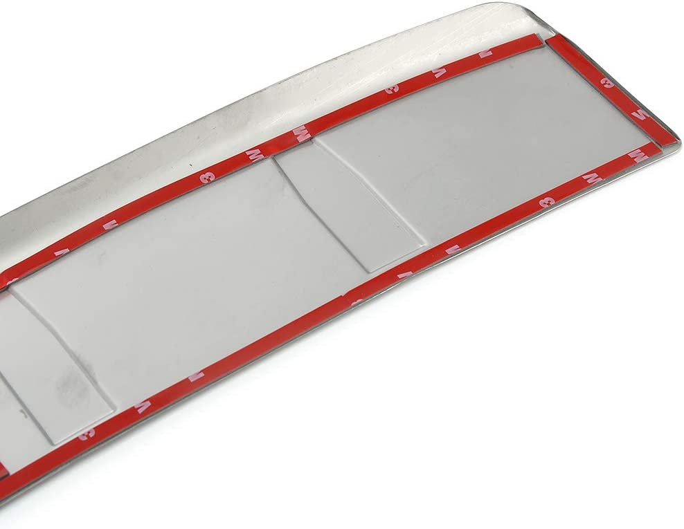 MotorFansClub Stainless Rear Outer Bumper for Volvo XC60 2009-2017 Protector Sill Plate Cover