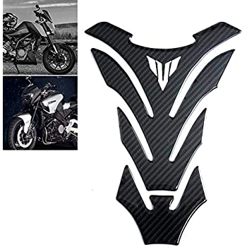 5D Gas Oil Tank Pad Protector Sticker Fit for Kawasaki Rahi Versys 650 2016-2018 KKmoon Motorcycle Carbon Fiber Tank Pad