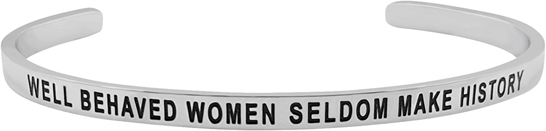 Well Behaved Women Seldom...