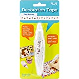 Plus Corporation Decoration Tape Pen, Paw Prints