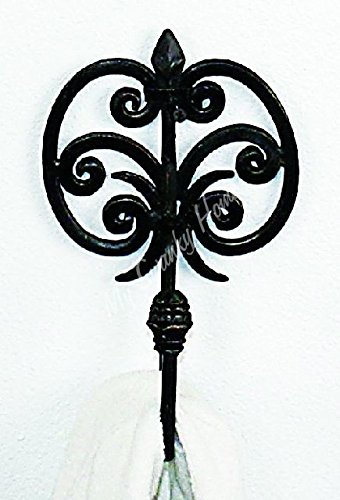 Gothic Wrought Iron Bed - 3