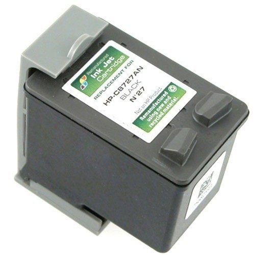 Remanufactured Ink Cartridge Replacement for HP 27 (3 Black 3 Pack) Photo #2