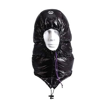VORCOOL Sombrero a Prueba de Viento Espesado máscara de esquí Ajustable Máscara de Plumas Capucha máscara