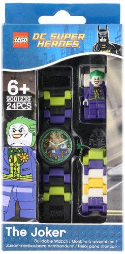 b965f47d9e4 LEGO Boy's 'DC Universe Super Heroes The Joker Minifigure' Quartz Plastic  Casual watchMulti Color (Model: 9001239)