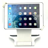 """Image of Tablet Stand DHYSTAR Tabletop Stand for ipad mini 1 2 3 4 / ipad air 1 2 / ipad 2 3 4, Samsung galaxy Tab Most 7""""-10"""" Tablets / E-readers Desktop Holder With 360-Degree Rotation - White"""