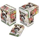 Ultra Pro - 330717 - Jeu De Cartes - Deckbox - Grumpy Cat Flowers - C60
