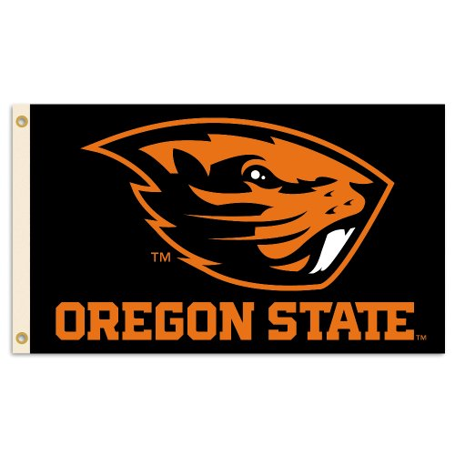 Tailgate Oregon Beavers State (NCAA Oregon State Beavers 3-by-5 Foot Flag with Grommets)