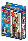 Magic-Mesh-New-and-Improved-Hands-Free-Magnetic-Screen-Fits-Doors-Up-to-Up-to-83-x-39-Black