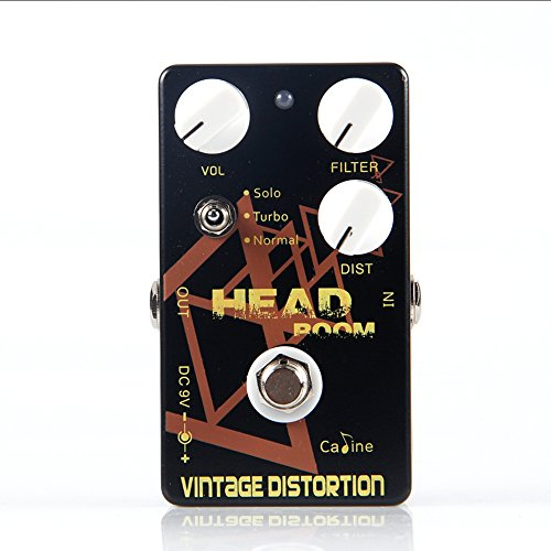 CALINE Head Room Vintage Distortion CP-34 Guitar Effects Pedal for Electric/Acoustic/Bass Guitarra Effect Guitar Accessories