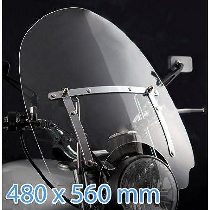 Pare-brise Moto pour Harley Davidson Dyna S-G Custom 2007//2014 fXDC