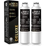 AQUACREST NSF 401,53&42 Replacement DA29-00020B Refrigerator Water Filter, Compatible with Samsung DA29-00020B, DA29-00020A, HAF-CIN/EXP, 46-9101 Water Filter (Pack of 2)
