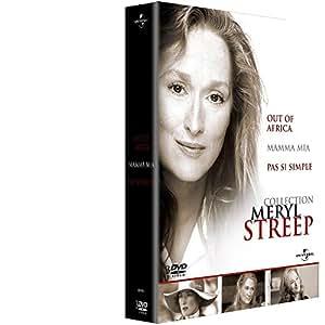 Coffret Meryl Streep - Out of Africa + Mamma Mia ! + Pas si simple [Francia] [DVD]