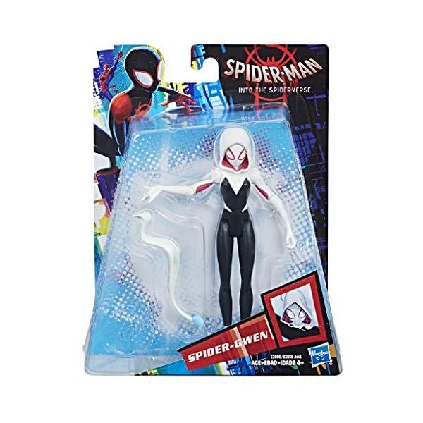"""5130p8Rkd5L Spider-Man Into The Spider-Verse 6"""" Spider-Gwen Figure"""