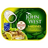 John West Grilled Sardines with Lemon (100g) - Pack of 6