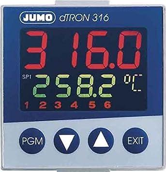 Regulador compacto Jumo 703041/181-000-23/00 Regelb. -200.. + 850C ...