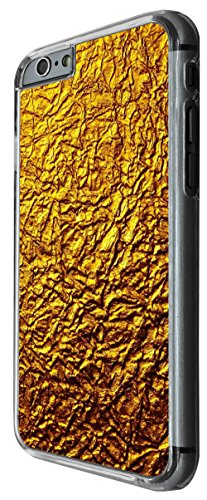 1191 - Gold Colour Pattern Print Design For iphone 6 Plus / iphone 6 Plus S 5.5'' Fashion Trend CASE Back COVER Plastic&Thin Metal -Clear