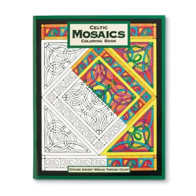 Mind Ware – Celtic Mosaic Coloring Book – 23 Unique Designs – Teaches Creativity and Fosters Imagination